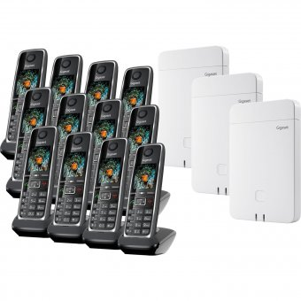 Gigaset N670 IP Pro & C530H Pro Multicell Bundle