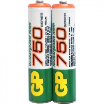 GP Battery Pack AAA 750mAh Ni-MH
