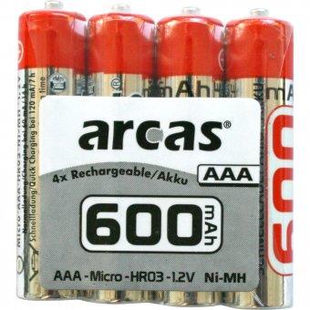 Arcas Akku-Pack AAA 600mAh