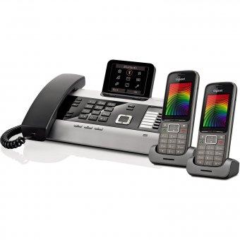 Gigaset DX800A Pro & 2 x SL750H Pro Premium Bundle