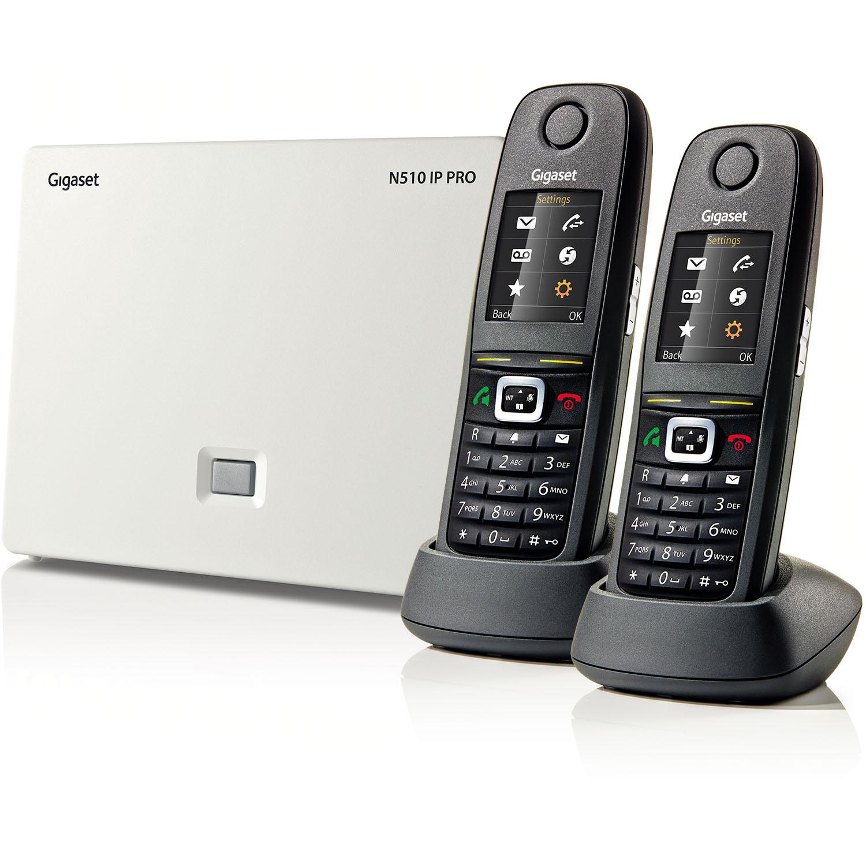 gigaset n510 ip pro 2 x s650h pro bundle gigaset pro phones equipment. Black Bedroom Furniture Sets. Home Design Ideas